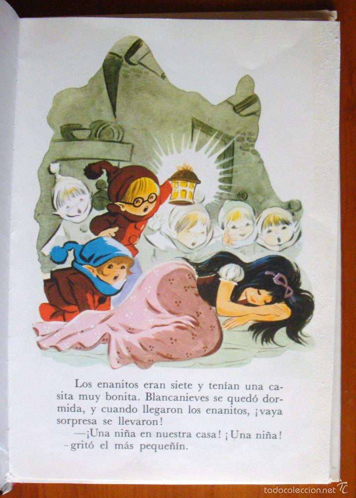 CUENTO INFANTIL JUVENIL 7 CUENTOS DE GRIMM TORAY 1992 MARÍA PASCUAL ILUSTRACIONES (Libros de Segunda Mano - Literatura Infantil y Juvenil - Cuentos)