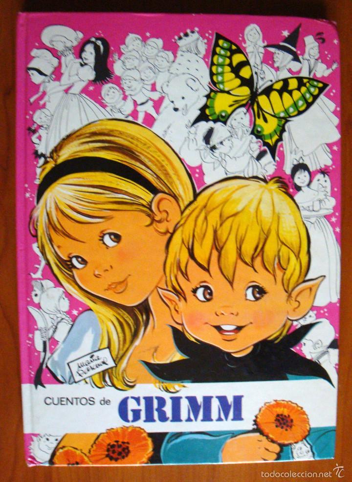 Libros de segunda mano: Cuento infantil juvenil 7 cuentos de Grimm Toray 1992 María Pascual ilustraciones - Foto 4 - 55661886