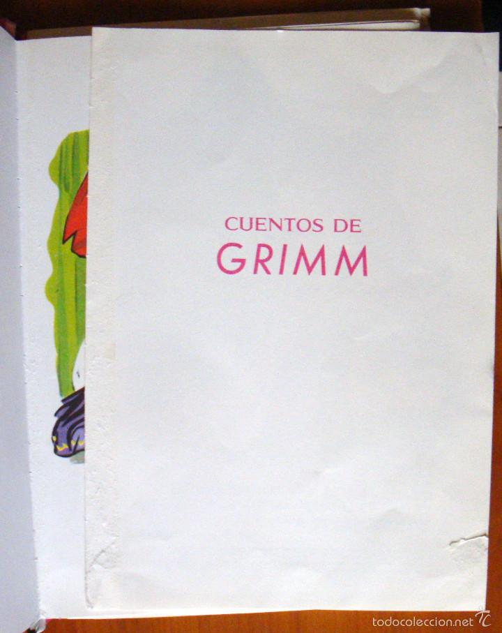 Libros de segunda mano: Cuento infantil juvenil 7 cuentos de Grimm Toray 1992 María Pascual ilustraciones - Foto 5 - 55661886