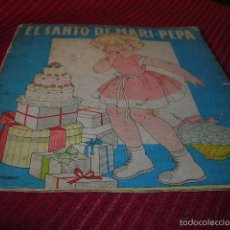Libros de segunda mano: MUY BONITO CUENTO EL SANTO DE MARI - PEPA.ILUSTRACIONES MARIA CLARET . Lote 55775498