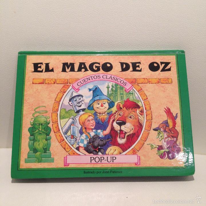 CUENTOS CLASICOS EL MAGO DE OZ POP UP MUY BONITO JOHN PATIENCE ILUSTRADO 2001 SALDAÑA RELIEVE (Libros de Segunda Mano - Literatura Infantil y Juvenil - Cuentos)