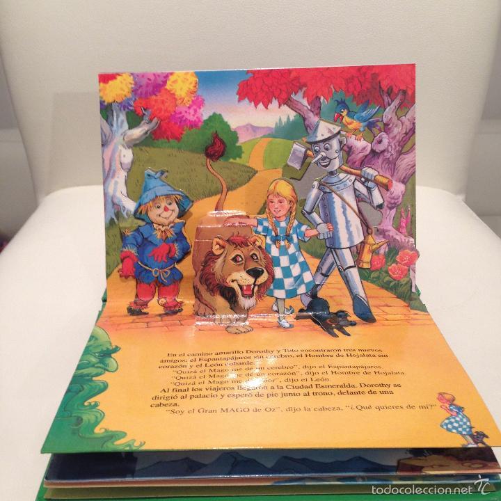 Libros de segunda mano: CUENTOS CLASICOS EL MAGO DE OZ POP UP MUY BONITO JOHN PATIENCE ILUSTRADO 2001 SALDAÑA RELIEVE - Foto 2 - 114426242