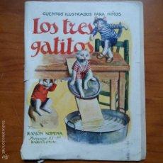 Libros de segunda mano: CUENTOS ILUSTRADOS PARA NIÑOS. LOS TRES GATITOS. RAMON SOPENA. BARCELONA. Lote 56046126
