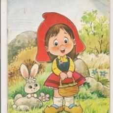 Libros de segunda mano: CUENTO TROQUELADO. CAPERUCITA ROJA. EDICIONES ARIES. (C/A31). Lote 56086241