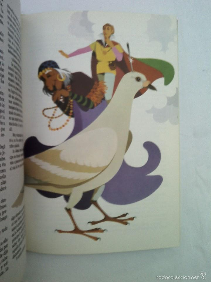 Libros de segunda mano: LIBRO LOS MAS BELLOS CUENTOS 850 GRAMOS 80 PAGINAS 31X22 CMS BUEN ESTADO 1974 - Foto 4 - 56155777
