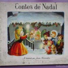 CONTES DE NADAL, 1ª EDICION, EDITORIAL VILCAR 1960, TAPA DURA, ILUSTRACIONES JOAN FERRANDIZ.
