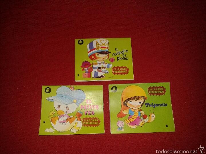 CUENTOS CLÁSICOS MINI-PANORAMICOS EDITORIAL ROMA (Libros de Segunda Mano - Literatura Infantil y Juvenil - Cuentos)