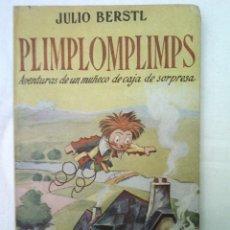 Libros de segunda mano: CUENTO PLIMPLOMPLIMPS 1ª EDICION JUVENTUD 1952 BUEN ESTADO 350 GRAMOS 23X14 CMS ILUST 128 PGS. Lote 56281524