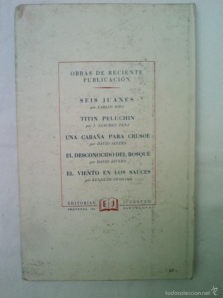 Libros de segunda mano: CUENTO PLIMPLOMPLIMPS 1ª EDICION JUVENTUD 1952 BUEN ESTADO 350 GRAMOS 23X14 CMS ILUST 128 PGS - Foto 2 - 56281524
