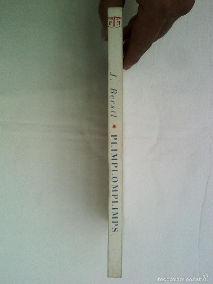 Libros de segunda mano: CUENTO PLIMPLOMPLIMPS 1ª EDICION JUVENTUD 1952 BUEN ESTADO 350 GRAMOS 23X14 CMS ILUST 128 PGS - Foto 3 - 56281524