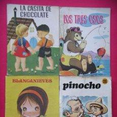 Libros de segunda mano - Cuentos, lote, ed. Roma, Susaeta, Ferma, Blancanieves, Pinocho, Casita Chocolate ercom - 56348783