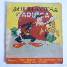 Libros de segunda mano: CUENTOS WALT DISNEY SERIE ENCARNADA 3. LOS BRILLANTES DE CARIOCA. EDITORIAL ROMA, S/F . Lote 56460742