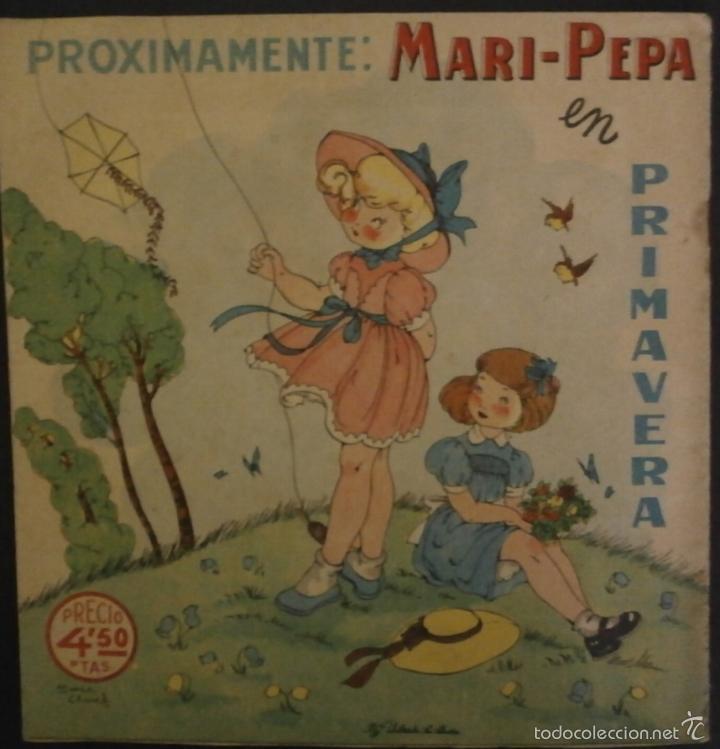 Libros de segunda mano: MARI PEPA EN SEVILLA.- TEXTO, EMILIA COTARELO. ILUSTRACIONES , MARIA CLARET. - Foto 3 - 56573210