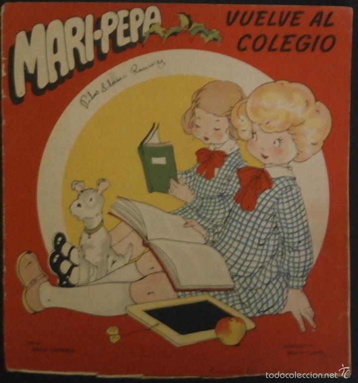 MARI PEPA VUELVE AL COLEGIO.- TEXTO, EMILIA COTARELO. ILUSTRACIONES , MARIA CLARET. (Libros de Segunda Mano - Literatura Infantil y Juvenil - Cuentos)