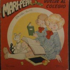 Libros de segunda mano: MARI PEPA VUELVE AL COLEGIO.- TEXTO, EMILIA COTARELO. ILUSTRACIONES , MARIA CLARET.. Lote 56574131