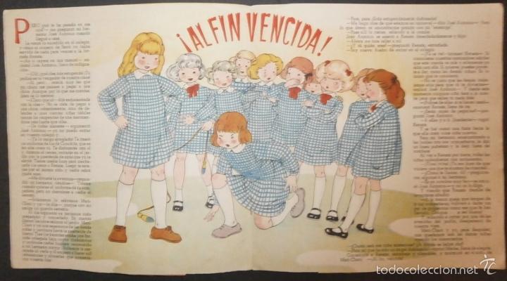 Libros de segunda mano: MARI PEPA VUELVE AL COLEGIO.- TEXTO, EMILIA COTARELO. ILUSTRACIONES , MARIA CLARET. - Foto 2 - 56574131