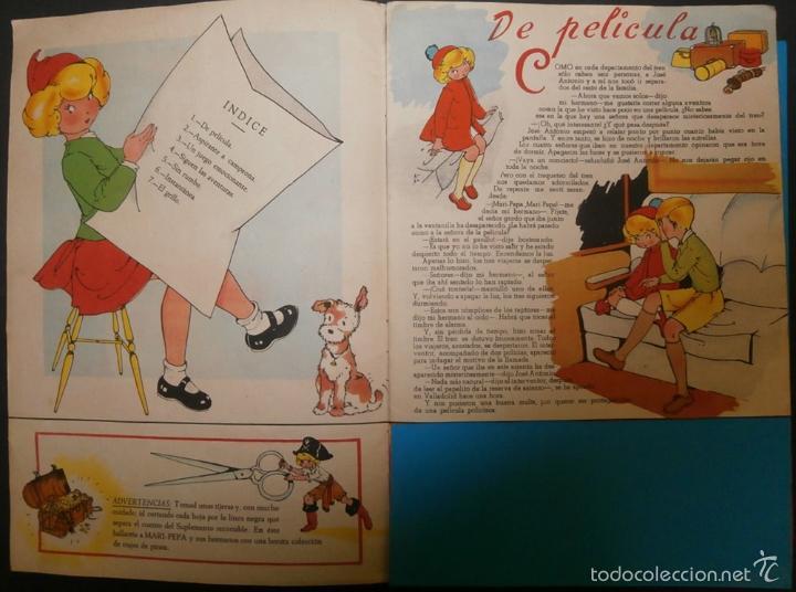 Libros de segunda mano: MARI PEPA Y LOS PIRATAS.- TEXTO, EMILIA COTARELO. ILUSTRACIONES , MARIA CLARET. - Foto 2 - 56574927