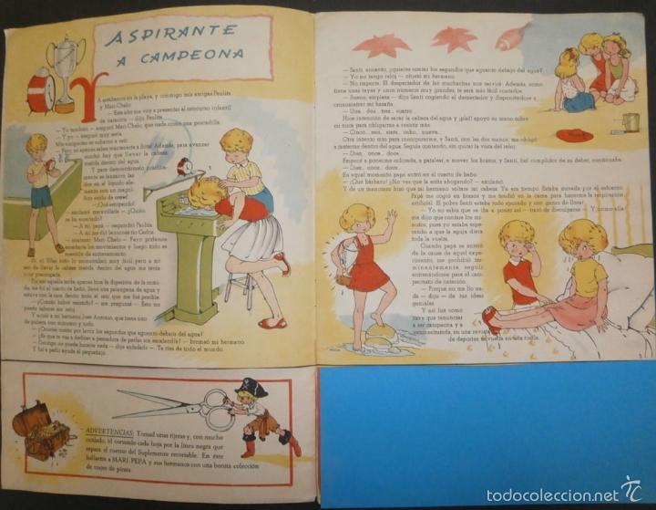 Libros de segunda mano: MARI PEPA Y LOS PIRATAS.- TEXTO, EMILIA COTARELO. ILUSTRACIONES , MARIA CLARET. - Foto 3 - 56574927