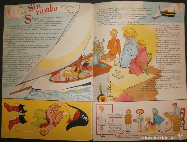 Libros de segunda mano: MARI PEPA Y LOS PIRATAS.- TEXTO, EMILIA COTARELO. ILUSTRACIONES , MARIA CLARET. - Foto 5 - 56574927