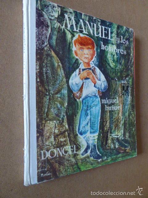 MANUEL Y LOS HOMBRES. MIGUEL BUÑUEL. DONCEL. LA BALLENA ALEGRE. 1969. Nº 12. 2ª ED. (Libros de Segunda Mano - Literatura Infantil y Juvenil - Cuentos)