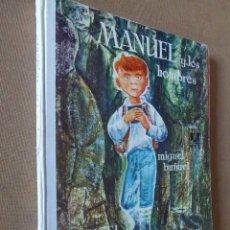 Libros de segunda mano: MANUEL Y LOS HOMBRES. MIGUEL BUÑUEL. DONCEL. LA BALLENA ALEGRE. 1969. Nº 12. 2ª ED.. Lote 56584155