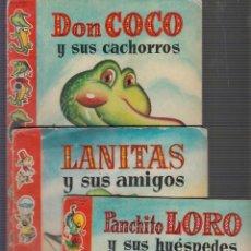 Libros de segunda mano: COLECCIÓN CINCO Y UNO, LOTE 9 CUENTOS -ED. BRUGUERA AÑOS 50. Lote 56597168