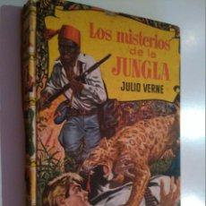 Libros de segunda mano: EL MISTERIO DE LA JUNGLA. DE JULIO VERNE. EDITORIAL BRUGUERA. PRIMERA EDICIÓN. 1958.. Lote 56625776