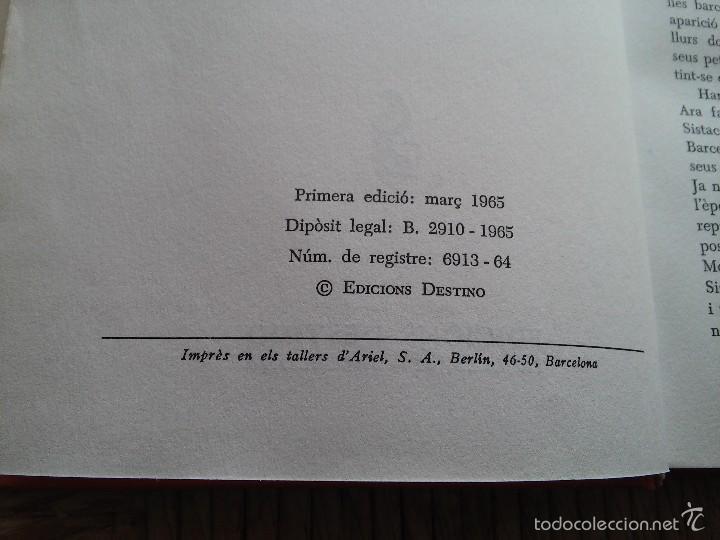 Libros de segunda mano: LA FAMILIA SISTACS - VALENTI CASTANYS - AÑO 1965 - EDICIONES DESTINO - Foto 4 - 56650671
