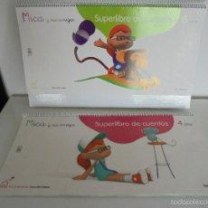 Libros de segunda mano: SUPERLIBRO DE CUENTOS. MICA Y SUS AMIGOS. MI PRIMERA CASA DEL SABER. GRAN FORMATO. VER FOTOGRAFIAS.. Lote 56672156