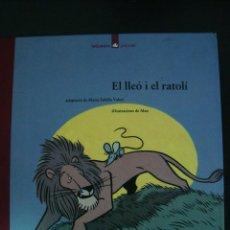 Libri di seconda mano: EL LLEO I EL RATOLI. IL-LUSTRACIONS DE MAX. LA GALERA POPULAR. EN CATALÁN.. Lote 56770834