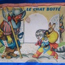 Libros de segunda mano: LE CHAT BOTTÉ. EL GATO CON BOTAS. CON DIORAMAS. ILUST. KUBASTA. DEL DUCA, PARÍS. ARTIA, PRAGE, 1959.. Lote 56816812