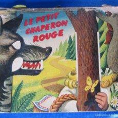 Libros de segunda mano: LE PETIT CHAPERON ROUGE. CAPERUCITA ROJA. CON DIORAMAS. KUBASTA. DEL DUCA, PARÍS. ARTIA, PRAGE, 1959. Lote 56818554