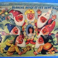 Libros de segunda mano: BLANCHE NEIGE ET LES SEPT NAINS BLANCANIEVES. DIORAMAS. KUBASTA. DEL DUCA, PARÍS. ARTIA, PRAGE, 1959. Lote 56818090
