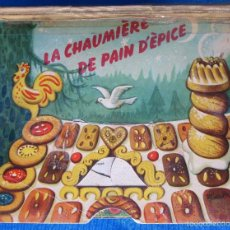 Libros de segunda mano: LA CHAUMIÈRE DE PAIN D'ÈPICE. LA CABAÑA DE JENGIBRE. DIORAMAS. KUBASTA. DEL DUCA, PARÍS. ARTIA, 1959. Lote 56820788