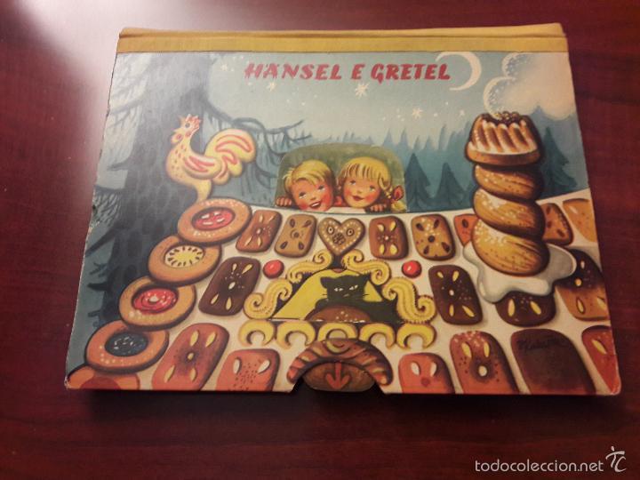 CUENTO HANSEL E GRETEL-DIORAMA-EN ITALIANO-CINO DEL CUCA EDITORE 1960 ARTIA PRAGA-7 HOJAS-20X26 (Libros de Segunda Mano - Literatura Infantil y Juvenil - Cuentos)