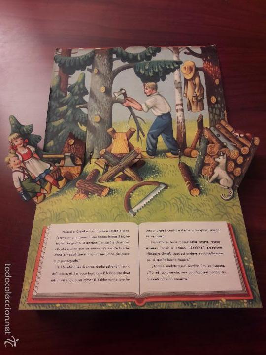 Libros de segunda mano: CUENTO HANSEL E GRETEL-DIORAMA-EN ITALIANO-CINO DEL CUCA EDITORE 1960 ARTIA PRAGA-7 HOJAS-20X26 - Foto 4 - 56857093
