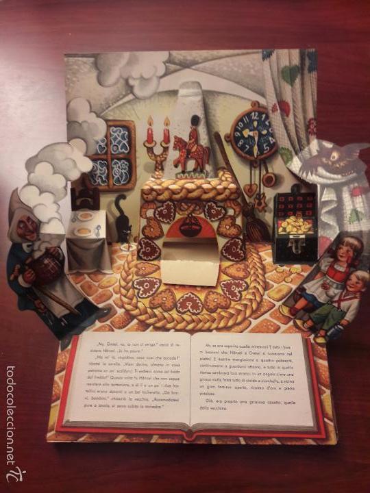 Libros de segunda mano: CUENTO HANSEL E GRETEL-DIORAMA-EN ITALIANO-CINO DEL CUCA EDITORE 1960 ARTIA PRAGA-7 HOJAS-20X26 - Foto 7 - 56857093