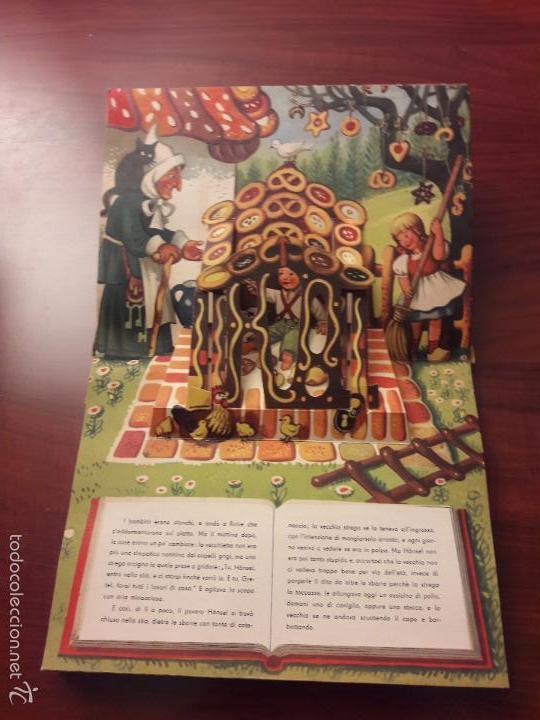 Libros de segunda mano: CUENTO HANSEL E GRETEL-DIORAMA-EN ITALIANO-CINO DEL CUCA EDITORE 1960 ARTIA PRAGA-7 HOJAS-20X26 - Foto 8 - 56857093