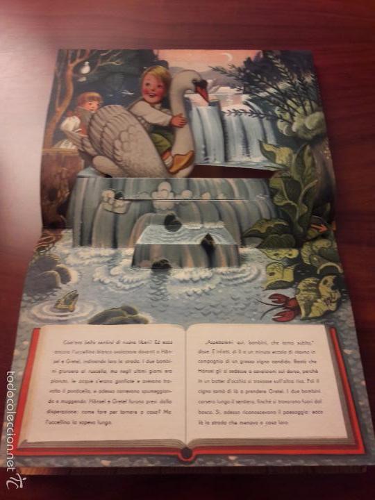 Libros de segunda mano: CUENTO HANSEL E GRETEL-DIORAMA-EN ITALIANO-CINO DEL CUCA EDITORE 1960 ARTIA PRAGA-7 HOJAS-20X26 - Foto 9 - 56857093