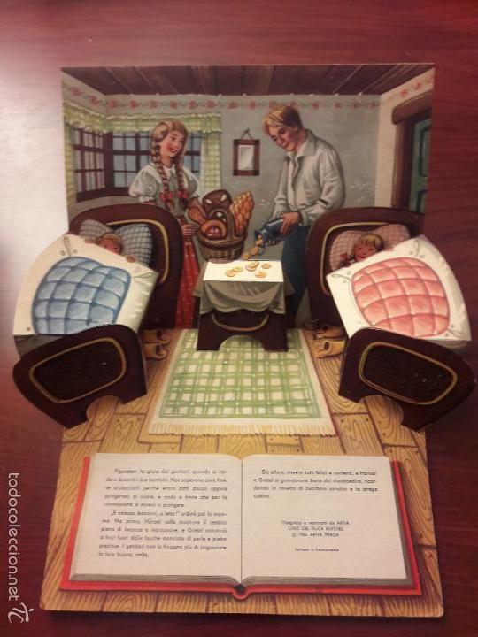 Libros de segunda mano: CUENTO HANSEL E GRETEL-DIORAMA-EN ITALIANO-CINO DEL CUCA EDITORE 1960 ARTIA PRAGA-7 HOJAS-20X26 - Foto 10 - 56857093