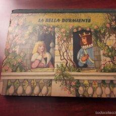 Libros de segunda mano: CUENTO LA BELLA DURMIENTE-DIORAMA-BANCROFT&CO.-WESTMINSTER LONDON S.W.1-1960 ARTIA PRAGUE-7 HOJAS. Lote 56857691