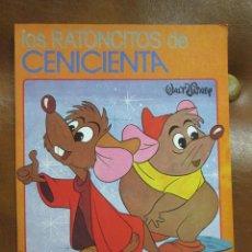 Libros de segunda mano: CUENTO: LOS RATONCITOS DE LA CENICIENTA DE WALT DISNEY AÑO 1980. Lote 174212223