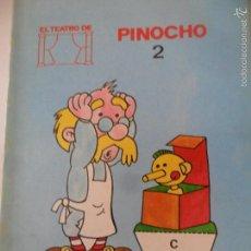 Libros de segunda mano: EL TEATRO DE PINOCHO Y EL FUEGO - COLECCION CUENTOS VIVOS 2 - ED. MUNDESA 1986. Lote 56919446