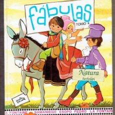 Libros de segunda mano: FÁBULAS - TOMO 4 - LA FONTAINE - SAMANIEGO - ESOPO - FEDRO - ILUSTRADAS POR MARIA PASCUAL. Lote 56948775