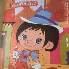 Libros de segunda mano: EL TEATRO DE PINOCHO EN LA ESCUELA - COLECCION CUENTOS VIVOS 3 - ED. MUNDESA 1986. Lote 56960590