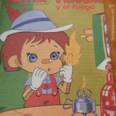 Libros de segunda mano: EL TEATRO DE PINOCHO Y EL FUEGO - COLECCION CUENTOS VIVOS 2 - ED. MUNDESA 1986. Lote 56960619