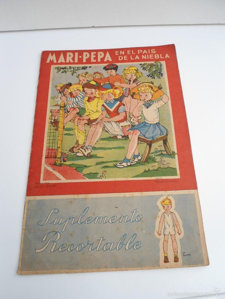 MARI-PEPA EN EL PAIS DE LA NIEBLA - MARIA CLARET & EMILIA COTARELO - PORTADAS COMPLETAS (Libros de Segunda Mano - Literatura Infantil y Juvenil - Cuentos)