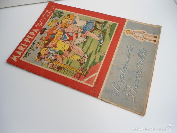 Libros de segunda mano: MARI-PEPA EN EL PAIS DE LA NIEBLA - MARIA CLARET & EMILIA COTARELO - PORTADAS COMPLETAS - Foto 2 - 56553884