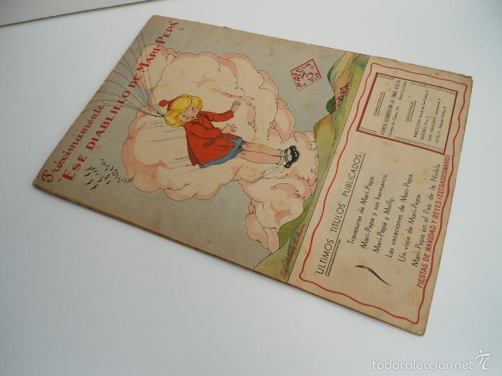 Libros de segunda mano: MARI-PEPA EN EL PAIS DE LA NIEBLA - MARIA CLARET & EMILIA COTARELO - PORTADAS COMPLETAS - Foto 3 - 56553884