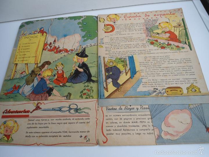 Libros de segunda mano: MARI-PEPA EN EL PAIS DE LA NIEBLA - MARIA CLARET & EMILIA COTARELO - PORTADAS COMPLETAS - Foto 4 - 56553884